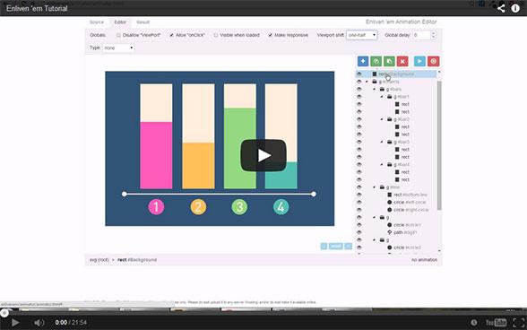 Enliven 'em! - SVG Animation Engine for WordPress - 10
