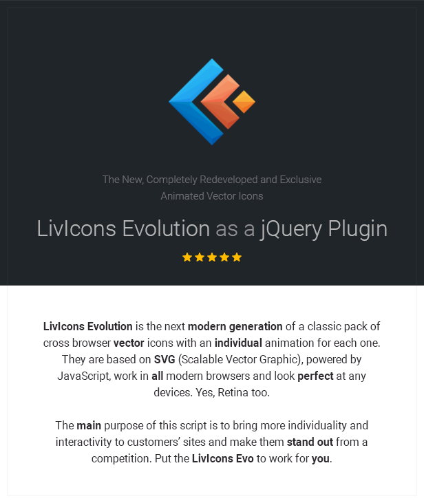 LivIcons Evolution for jQuery - The Next Generation of the Truly Animated Vector Icons - 3